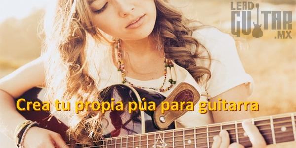Crear tu propia púa para guitarra image