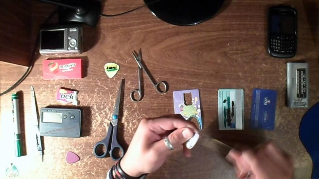 Materiales para crear tu propia pua