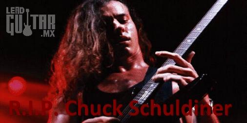 Chuck Schuldiner Guitarrista Lider image