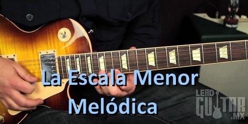 Escala menor melodica, Ejercicios image