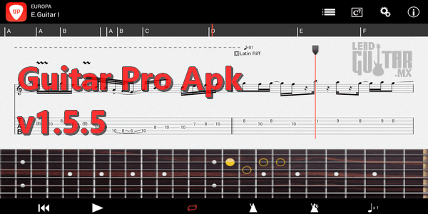 Guitar pro 1.5.5 apk
