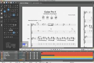 Guitar pro 6 en español interface