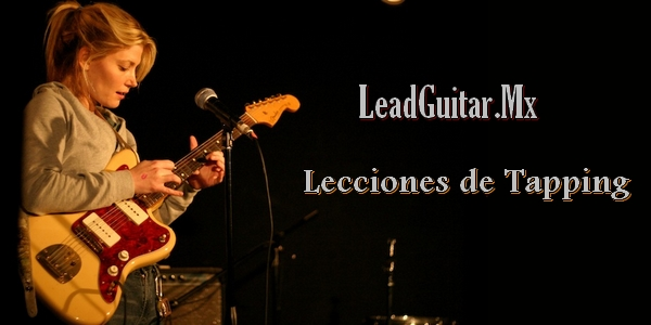 Lecciones de tapping en la guitarra image