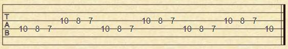 Ejercicio 3 - Ganar velocidad guitarra