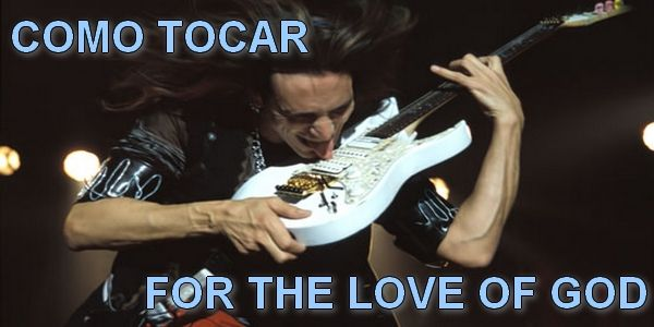 ¿Cómo tocar For The Love of God?