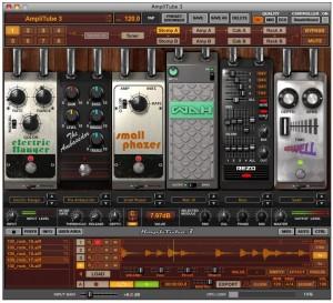 Amplitube 3 Mega efectos pedales
