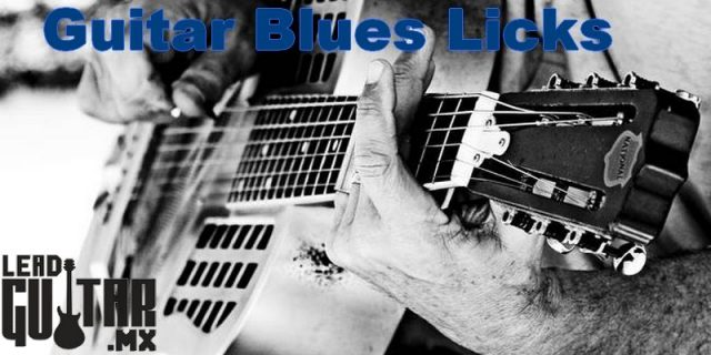 Blues Licks para guitarristas avanzados