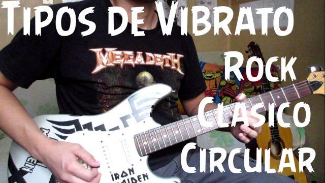 Tipos de vibratos | Ejercicios para guitarra