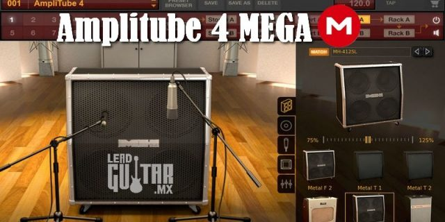 Amplitube 4 Mega descarga gratis