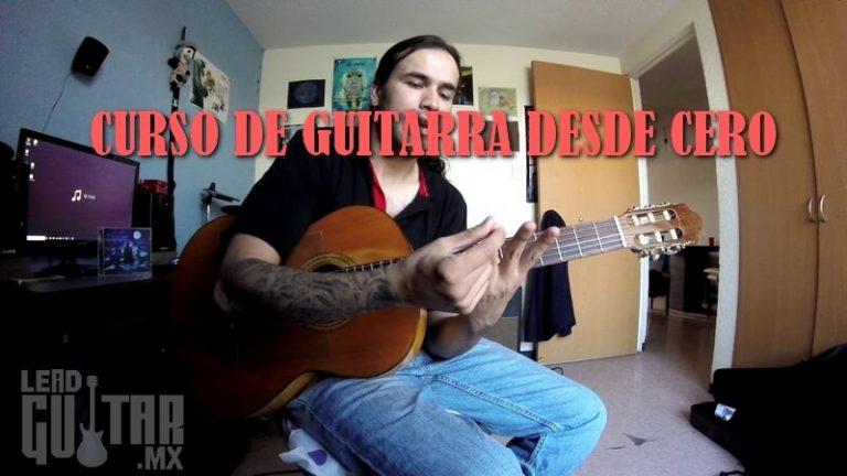 Curso de Guitarra desde cero, Parte 1 y 2 image