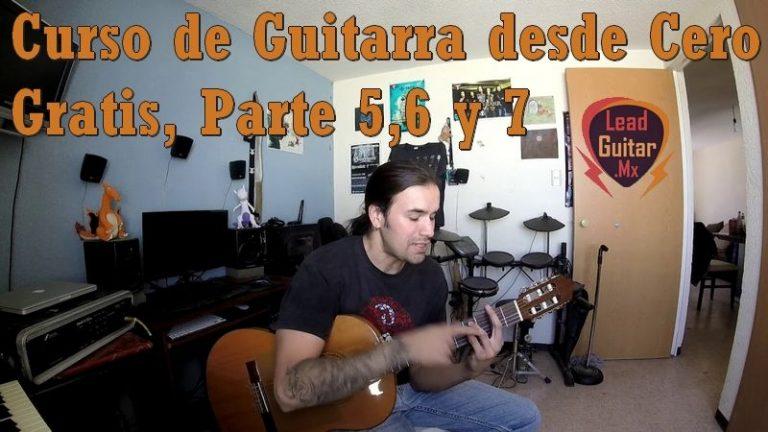 Curso de guitarra desde cero gratis, Parte 5, 6 y 7 image