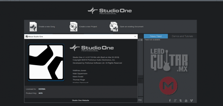 Studio One 4.1.4 2019 x64 MEGA Download image